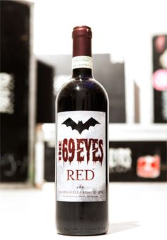 the 69 eyes wine :) ONLY IN FINLAND?!