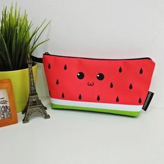 Get this cute watermelon #pencilcase by @cuhax_hafiz on Creative United. http://ift.tt/2ml5ZmL .Also available on #totebag #slingbag #throwpillow #pouch #mug and other cool products. . Click link in bio @creativeunited.my to visit Creative United Malaysia's largest art marketplace. Follow us for daily dose of cool artworks by Malaysian indie artists and designers. Showcase and sell your works as products on Creative United without any cost. Join us! . #creativeunitedmy #creativeunited…