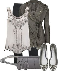 """""""Silver Bells"""" by jewhite76 ❤ liked on Polyvore"""