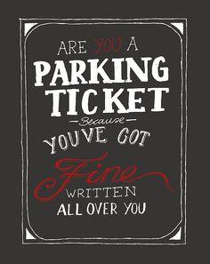 parking ticket puns