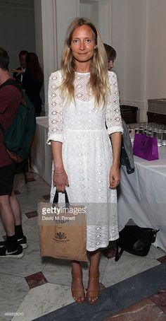 Martha Ward attends a private view of 'New Work' by American artist... News Photo | Getty Images