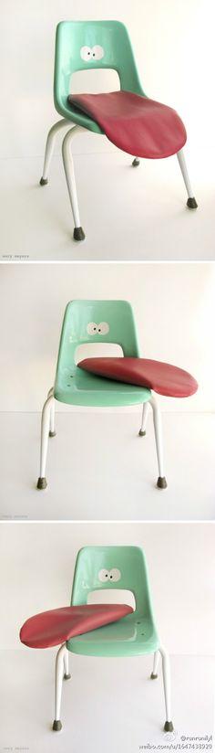 Genial :D #chairjunky    http://attheoffice.com