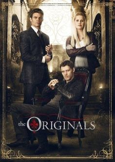 Those of you who don't already know about the show 'The Originals'. It's a…