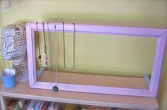 have an idea for something like this to half display necklaces and half display either earrings or bracelets.