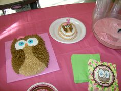 Look whoo's One!  Owl cakes by me!