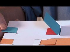 Pop-Up Tutorial 26 - Pull-strips - Part 2 - Flaps - YouTube