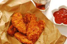 Fingers de pollo super crujientes. | Cuchillito y Tenedor