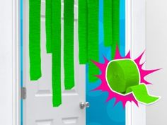 Heres how to make green slime just like the nickelodeon kids slime effect with tissue paper ccuart Gallery
