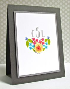 From Pretty Periwinkle Blog : Gorgeous layout and colours using the Fresh Cut Florals set.