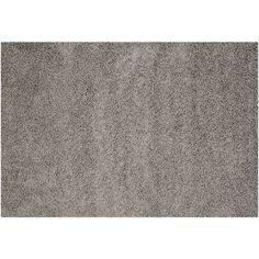 Safavieh Athens Solid Shag Rug, Grey