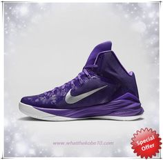 wholesale dealer cf98c 1a29e Court Purple Purple Venom White Metallic Silver Nike Hyperdunk 2014 TB  653483-505