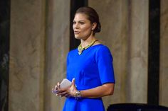 Crown Princess Victoria and Prince Daniel attended  the citizenship ceremony in Solna