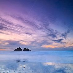 Winter sunset in North Cornwall Photography Beach, Landscape Photography, Landscape Photos, Beach Bodys, British Beaches, Devon And Cornwall, North Cornwall, St Just, South West Coast Path