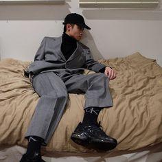 Fashion Killa, Boy Fashion, Korean Fashion, Mens Fashion, Stylish Boys, Facon, Everyday Fashion, Editorial Fashion, Cool Outfits