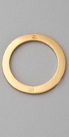 Gorjana Alphabet Stack Ring thestylecure.com