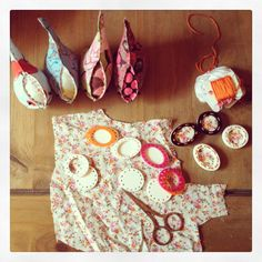 16/05/2013 - working on birds and brooches!