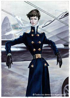 Pfeffer ... ist in Ihrem Erfrischungsgetränk: Die Fashionistas Illustrationen von Arturo Elena