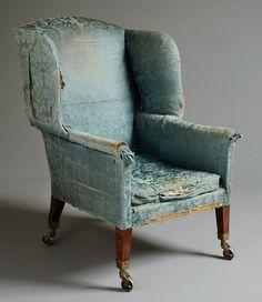 George III Wing Chair circa 1800