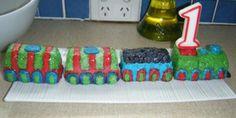 Com Train First Birthday Cake Html Tagged