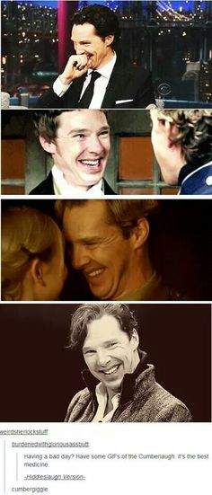 Whenever he laughs, an angel gets his wings.