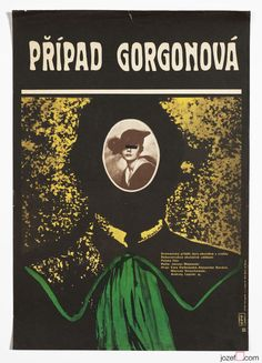 £0.99 EBAY AUCTION / Original Vintage Collage Movie Poster THE GORGON CASE A3 Size Cinema Poster / #movies #posters