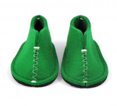 Baby slippers, from Swedishness