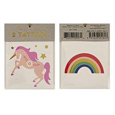 Unicorn and Rainbow Tattoos – Shop Sweet Lulu
