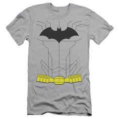 Batman - New Batman Costume Adult Slim Fit T-Shirt