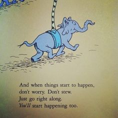 Dr Seuss knows what's up