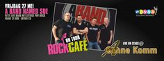 Rock café on tour #wonna.nl A Band Named Sue