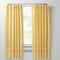 yellow curtains baby 63 - Google Search