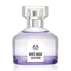 Køb White Musk® Eau de Parfum fra The Body Shop: This eau de parfum is our iconic fragrance: a scented symphony of pure, cruelty-free musk. The perfect light, sensual, floral fragrance. Layer with other White Musk® products to build the fragrance. The Body Shop, Body Shop At Home, Musk Perfume, Fragrance Parfum, Perfume Oils, Perfume Bottles, Lotion, Pink Bottle, First Perfume