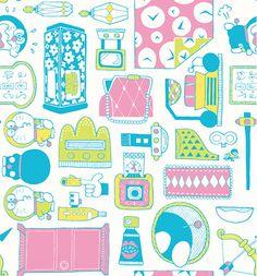Doraemon Wallpapers, Pizza Cat, Love Design, Pattern Wallpaper, Graphic Design Inspiration, Sanrio, New Art, Iphone Wallpaper, Illustration Art