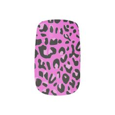 Pink Jaguar Minx Nails Nail Stickers #minxnails