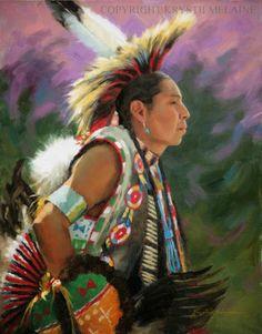 Amerindian: Krystii Melaine's art