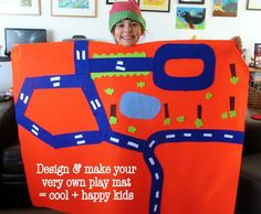 design your own play mat