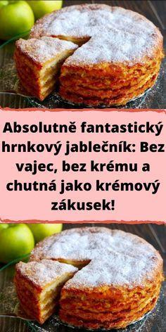 Czech Recipes, New Recipes, Sweet Recipes, Favorite Recipes, Ethnic Recipes, Vegan Dessert Recipes, Delicious Desserts, Pound Cake, Good Food