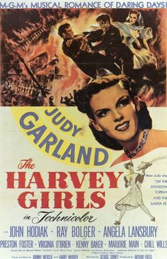 The Harvey Girls 11x17 Movie Poster (1946)