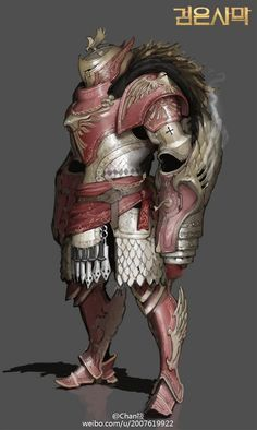 The way the shoulders and chest are high to the head. Make head look tucked in. Also the shin armour