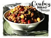 Cowboy Baked Beans on MyRecipeMagic.com #baked #beans #cowboy