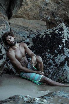 marlon teixeira photos 007 Marlon Teixeira Hits the Beach, Posing in Swimwear…