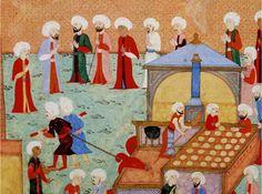 DIMA SHARIF: Ottoman Ramadan Food & Food Traditions - Baklava. Bakery
