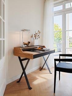 stanley desk black oak lambert schreibtisch gutes zeitloses design und