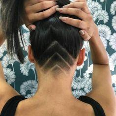 Undercut  - Nieuwe haartrend: hidden tattoos  - Nieuws - Beauty