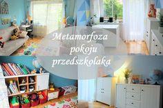 Metamorfoza pokoju przedszkolaka w pokój ucznia