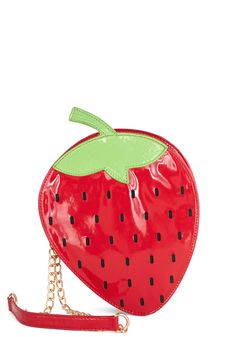 Strawberry Feels Forever Bag, #ModCloth