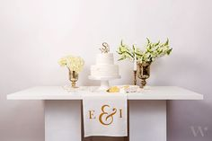 For a classic way to set a table, nothing beats a monogrammed table runner and this soft, off white cotton linen one is the perfect addition to any table setting. Featuring the ever popular ampersand and two gracefully stylized initials on either side, this table runner will add simple elegance to your entertaining whether it be an engagement party, shower or wedding or make it a personalized housewarming or anniversary gift.