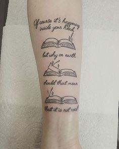 These Harry Potter quotes make the perfect tattoos.