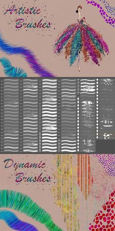 Buy Artistic Brushes for DigitalPainting by FaeryDesign on GraphicRiver. You will get 134 well organized dynamic brushes for digital painting . These brushes are compatible wit. Photoshop Actions For Photographers, Best Photoshop Actions, Photoshop Presets, Free Photoshop, Photoshop Brushes, Firealpaca Brushes, Digital Art Tutorial, Photo Manipulation, Artist At Work