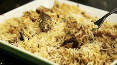 This is a tipical plate in India called Lahore lamb biryani. Garlic Recipes, Yogurt Recipes, Fish Recipes, Indian Food Recipes, Vegetarian Recipes, Recipies, Lamb Biryani Recipes, Sweet Meat Recipe, Saffron Recipes